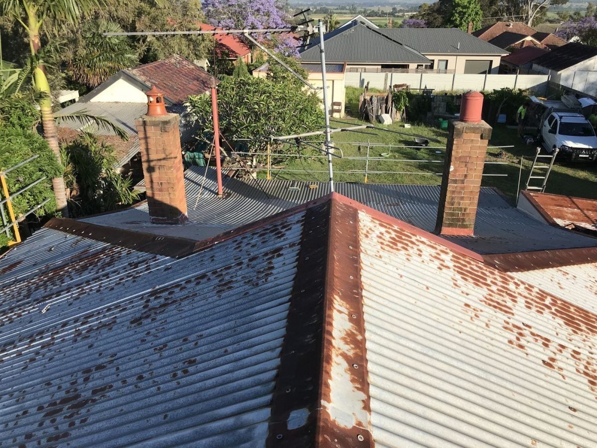 Before Maitland Roofing